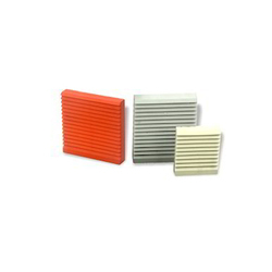 ABS Orange & Grey Air Vent - Surface Mounted