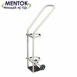 Mentok Heavy Medical Cylindrical Trolley, For Hospital