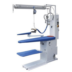 Suction Blowing Vacuum Ironing Table Built in Boiler