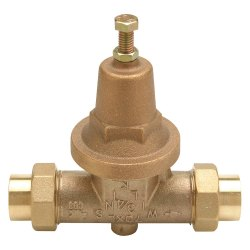 Water Pressure Reducing Valves