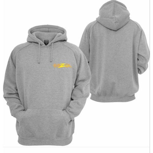 Full Sleeve Cotton Men Grey Jackets, Size: L