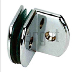 Round Shape- 900 Wall To Glass Connector
