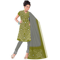 Fancy Designer Bandhani Suit