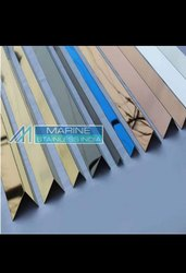 Stainless Steel PVD Color Coated Decorative Profiles