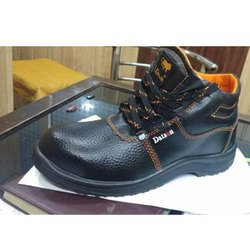 Datson Black Safety Shoes