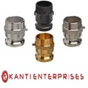 Part F Male Adaptor Male Thread Camlock Coupling