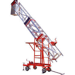 Mobile Telescopic Platform Tiltable Ladder
