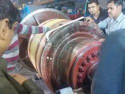 Siemens 1800 Rpm DC MOTOR REPAIRING, 2000 Kw, 440