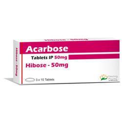 Hibose 50mg Acarbose Tablet