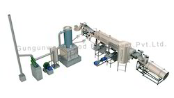 Semi Automatic Potato Chips Fryer Line