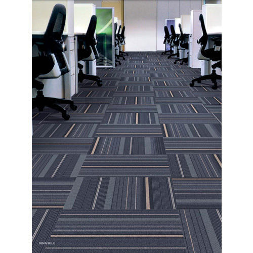 Porcelain Office Carpet Tiles 8 10 Mm Rs 75 Square Feet Maxsys