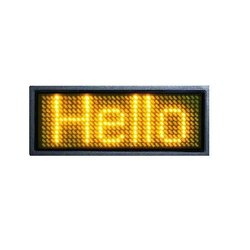 Electronic Moving Display Boards