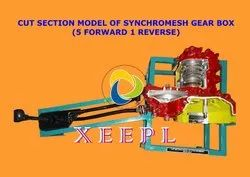 Cut Section Model of Synchromesh Gear Box