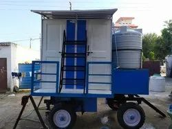 Four Seater Mobile Toilet