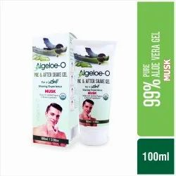 Algeloe-O Pre & After Shave Gel - Musk