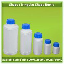 HDPE Triangular Shape Bottles