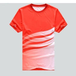 Polyester Printed Sublimation Men T Shirt