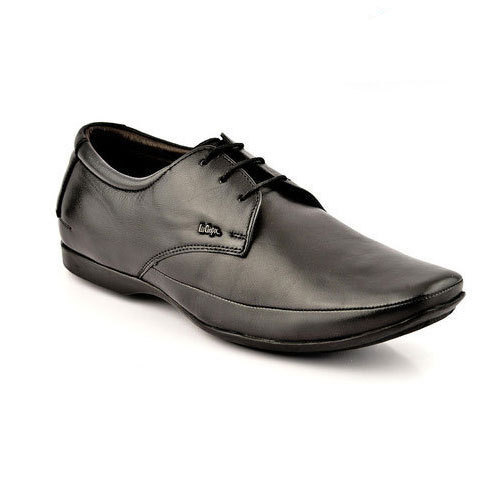 Mens Leather With Lace Core Shoes