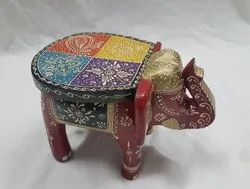 Elephant Wooden Stool
