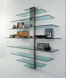 Designer Glass Shelf
