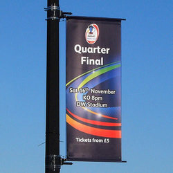 Lamp Post Banner Printing Service