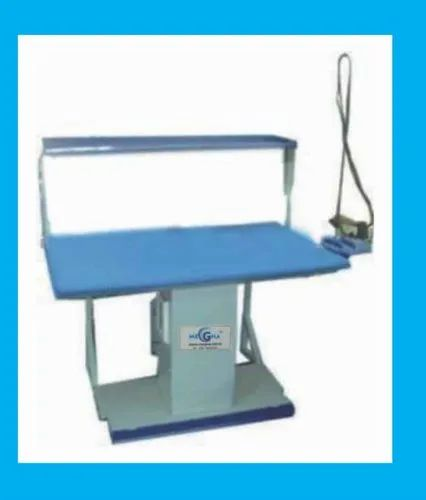 Blue Vacuum Ironing Table, Model Name/Number: Vacuum Table, for Industrial