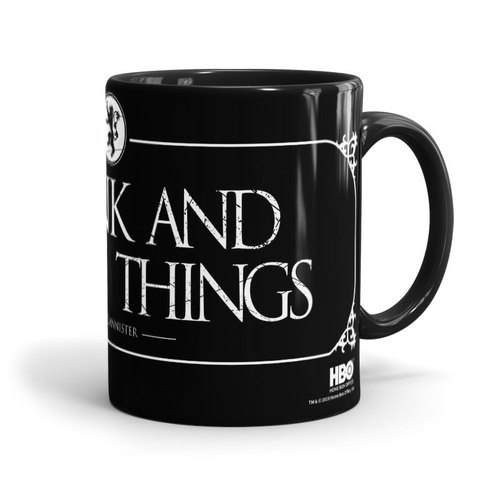 Game of Thrones Know Things Printed Mug