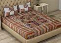 Rajasthani Barmeri Cotton Double Bedsheet