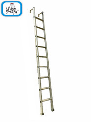 Aluminum Straight HD Wide Steps Hook Ladder