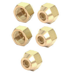 Brass Flare Nut, Available Thread Size: 3 - 10 Mm