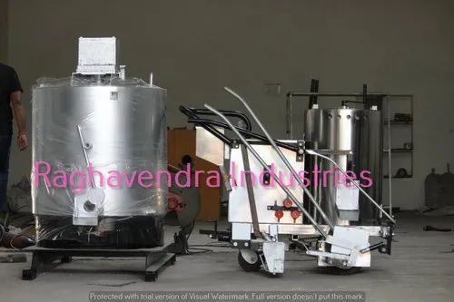Road Marking Machine & Preheater Boiler Set
