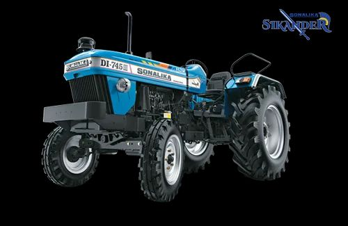 Sonalika DI 745 III Sikander, 50 hp Tractor, 1800 kg, Price from Rs.579000/unit onwards, specification and features