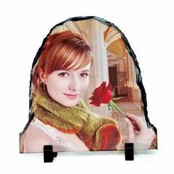 Brown Sh-01 Rock Photo Frame For Sublimation Printing