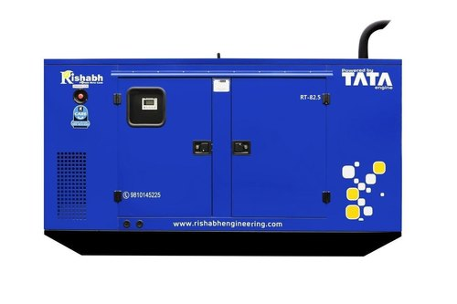Silent Diesel Generator 82.5 kVA I Standby