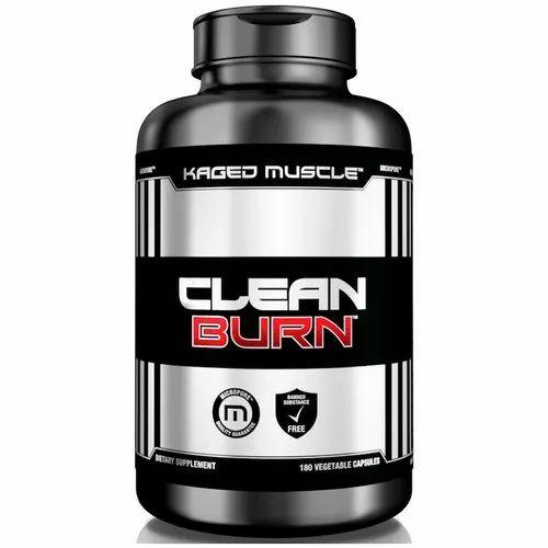 Kaged Muscle Clean Burn Fat Burner Tablet, Packaging Type: Bottle