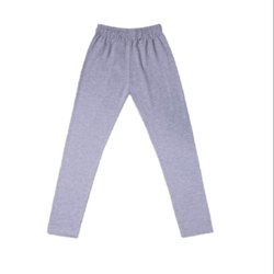 Grey Plain Girls School Dress Leggings, Age Group: 4-15