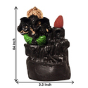 Back Flow Ganesha Smoke Fountain Incense Cone Burner
