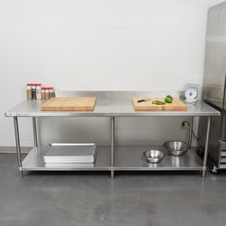 Vegetable Cutting Table