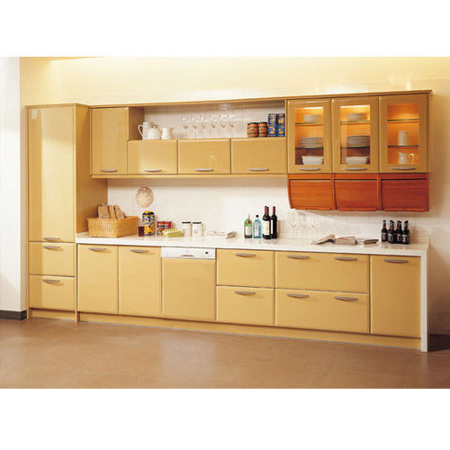 Modular Wooden Kitchen Cabinet At Rs 14000 /unit