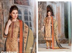 Bela Destiny Series 441-449 Stylish Party Wear Tussar Satin Suit