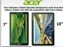 One 7 Tablet By Acer Embrace A Tech-Savvy Lifestyle With Acer