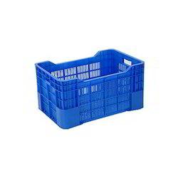 Blue Plastic Vegetable Crates