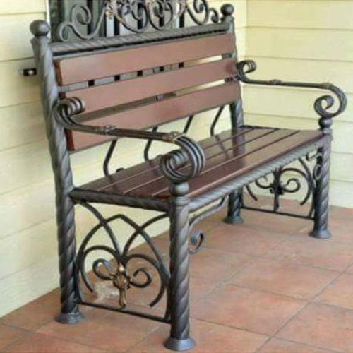 Fantastic Steel Garden Bench L B Mvs Ocoug Best Dining Table And Chair Ideas Images Ocougorg