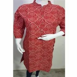 Cotton Causal Kurtis