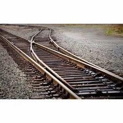 Iron Railway Curve Switches