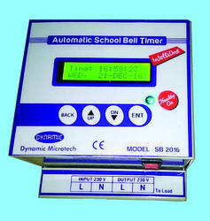Dynamic Lcd Auto School Bell System