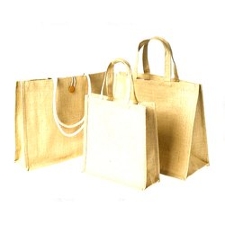 Plain Handcrafted Jute Bag, Size: 8 X 12 Inch