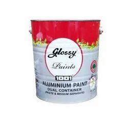 Glossy 1 Ltrs Heat Resisting Aluminium Paint