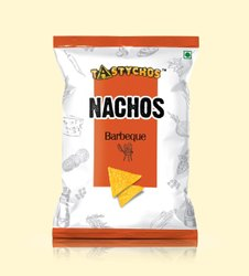 Tomato Tangy Tastychos Nachos Chips - Barbeque, Packaging Size: 40 Grm Each
