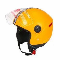 Yellow Grand Open Face Helmet